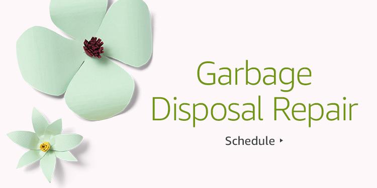 Save $30 on Garbage Disposal Repair