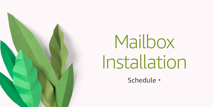 Save $30 on Mailbox Installation