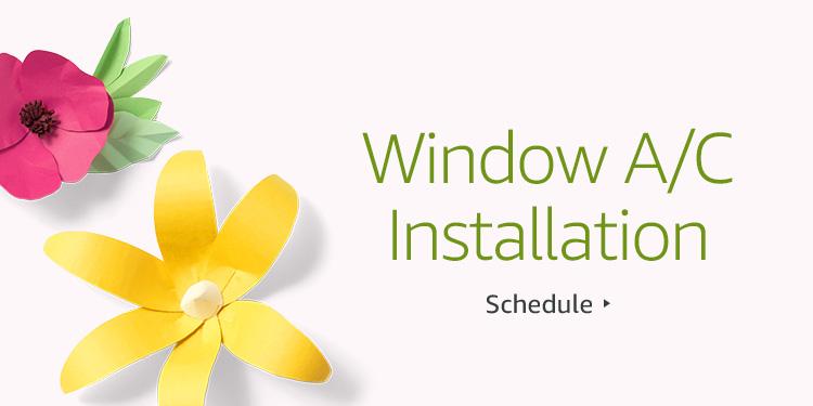 Save $30 on Window Unit AC Installation