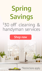 Amazon Home Services: Get $30 Off Cleaning and Handyman Services