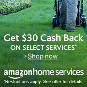 Amazon Home Services: Get $30 cash back savings when you book your first service