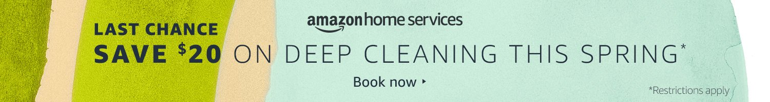 Save $20 on Deep Cleaning this Spring