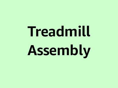 Treadmill assembly