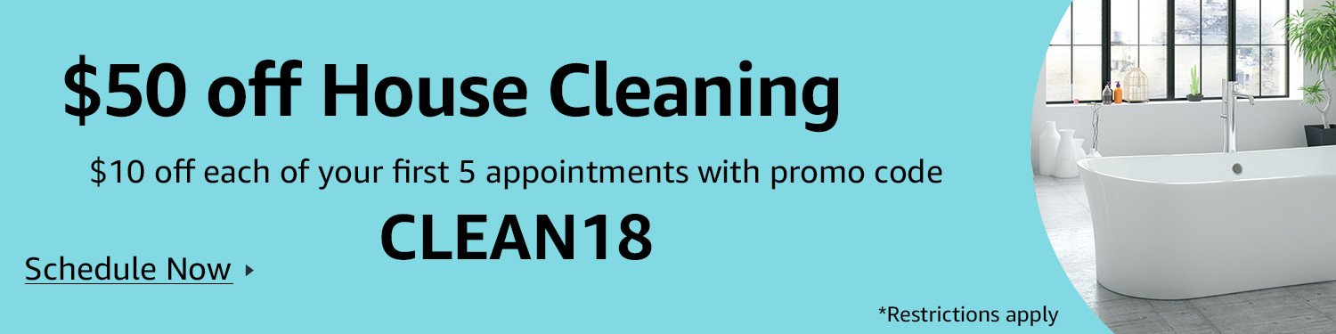 $50 off house cleaning plans