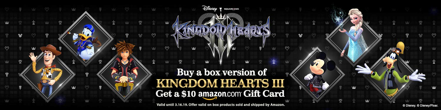 ed65432b59f87 Buy KH3 get an Amazon Gift Card!