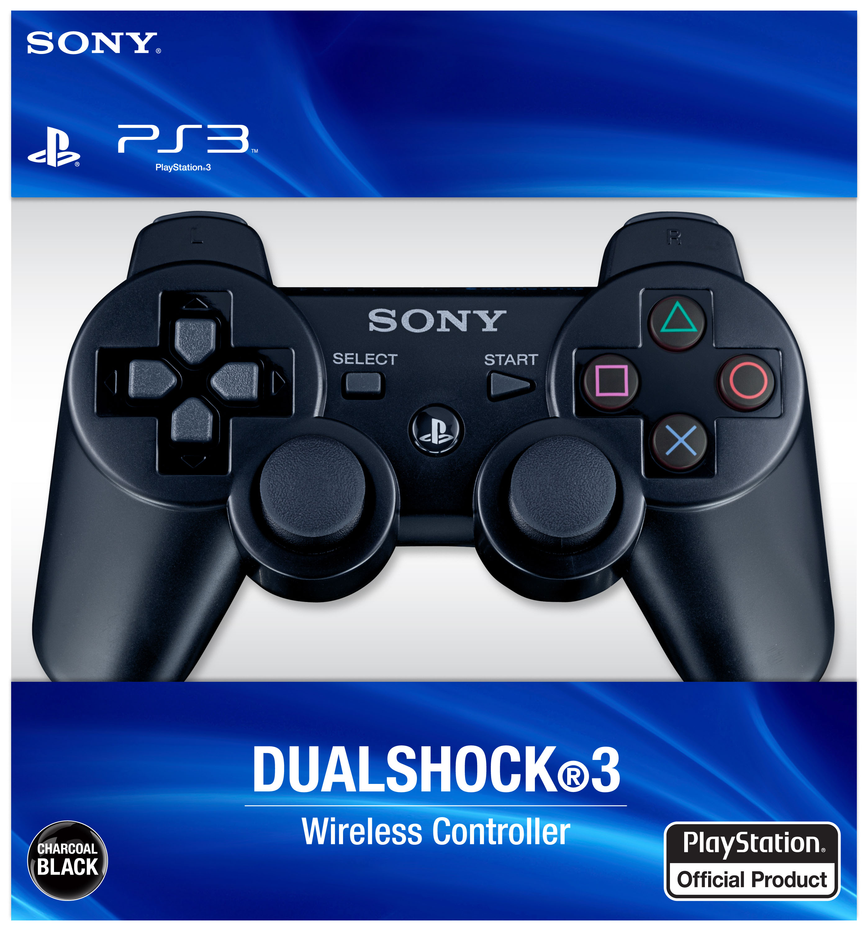 Playstation 3 Dualshock Wireless Controller Black How To Repair Your Plasystation Laser View Larger