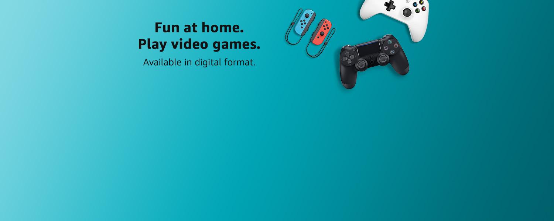 Play Video Games in Digital Format