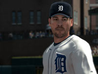 Sharp new player models in Major League Baseball 2K11