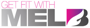 'Get Fit With Mel B' game logo