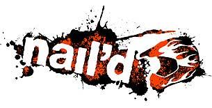 'nail'd' game logo