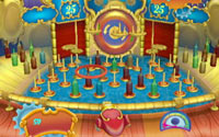 Ring toss mini-game from 'Six Flags Fun Park'