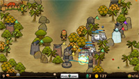 PixelJunk Monsters Deluxe features a unique hand-drawn art style