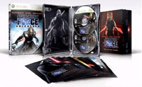 Contents of Star Wars The Force Unleashed: Ultimate Sith Edition for Xbox 360
