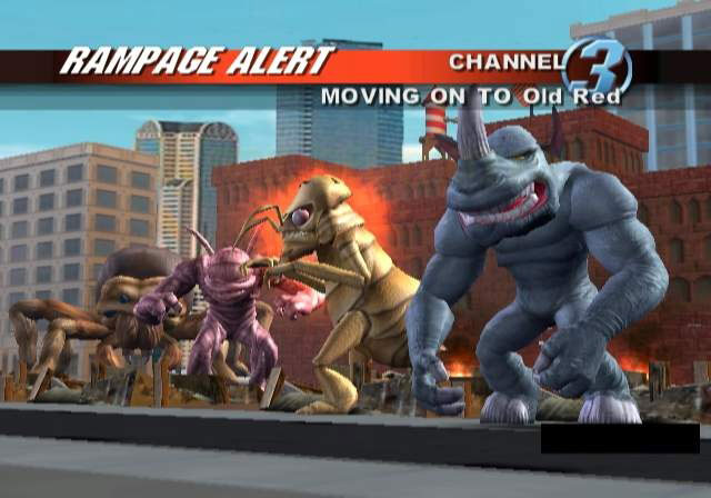 rampage total destruction wii