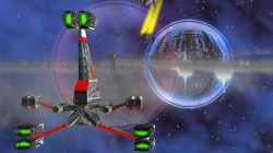 'Shattered Suns' Thrilling 3-D space combat