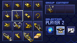Select units from large inventories in 'Tom Clancy's EndWar'
