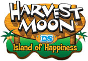 'Harvest Moon: Island of Happiness' game logo