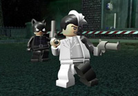 Cat Woman and Two-face in 'LEGO Batman the Game'