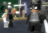 Two-Face and Catwoman in 'LEGO Batman the Game'