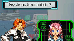 Rallen and Jeena in 'Spectrobes: Beyond The Portals' for DS