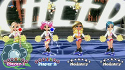 Four player format in 'We Cheer'