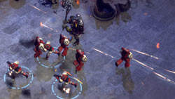 Exploiting numerical and tactical adventages in 'Warhammer 40,000: Dawn of War II'