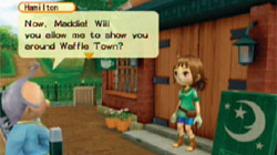 Meeting the townsfolk in 'Harvest Moon: Tree of Tranquility'