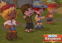 Making friends in ''MySims Kingdom''