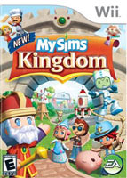 'MySims Kingdom' for Wii box