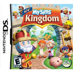 'MySims Kingdom' DS box