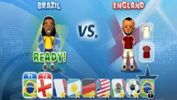 Squad customization in 'FIFA Soccer 09 All-Play'