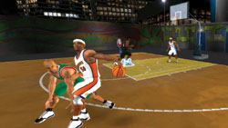 Cross-team squad in 'NBA Live 09 All-Play'