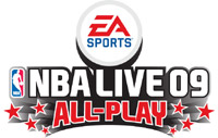 'NBA Live 09 All-Play' game logo