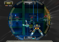 Enemies in a scope in 'NERF N-Strike'