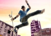 Grabbing some board in 'Skate It' for Wii