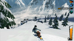 Catching some air in 'Shaun White Snowboarding'
