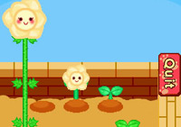 Happy flowers in the garden in 'Smart Girl's Party Game'
