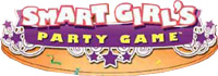 ' Smart Girl's Party Game' game logo