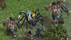 Challenging bosses in 'Sacred 2: Fallen Angel'