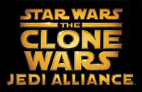 'Star Wars The Clone Wars: Jedi Alliance' game logo