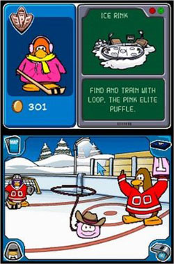 club penguin ds games