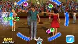 Multiplayer in 'Disney's High School Musical 3: Senior Year DANCE!'