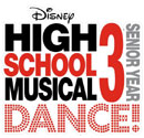 'Disney's High School Musical 3: Senior Year DANCE!' game logo