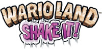 'Wario Land: Shake It!' game logo