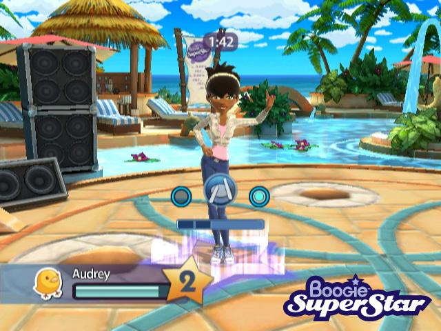 Singleplayer mode in 'Boogie SuperStar'