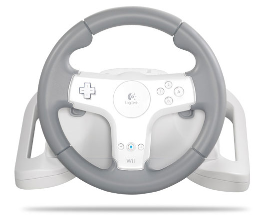 With the Logitech Speed Force Wireless Wheel, Wii users can finally ...