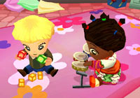 Hosting multiplayer play dates in 'Imagine Babysitters'