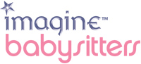 'Imagine Babysitters' game logo