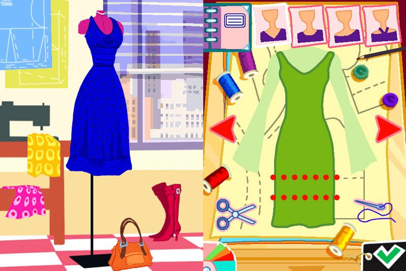 Imagine fashion designer new york nintendo Online fashion designer games