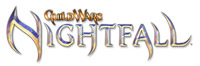'Guild Wars Nightfall' game logo